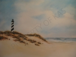 Watercolor Art - Cape Hatteras