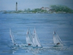 Watercolor Art - Marblehead USA